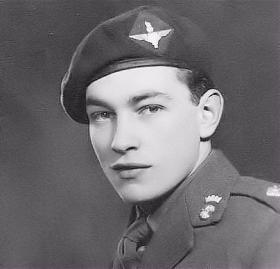Second Lt Ted Pool MC, c1943.