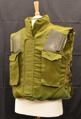 1970s M1969 Fragmentation Vest from the Airborne Assault Museum Collection, Duxford.