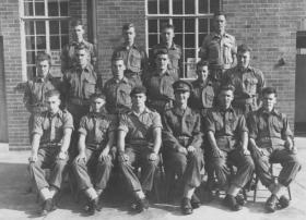 Final selection group 'P' Coy. Sept/Oct 1959.