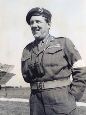 Maj Gen Bourne 1952