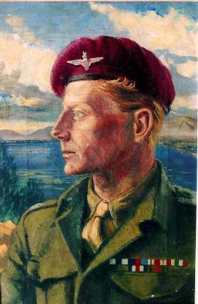 Portrait of Major Dick Hargreaves MC