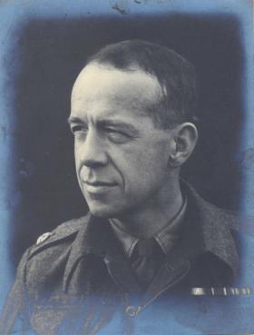 Major John Lander TD BSc, c1942