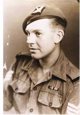 A Sgt of 7th (LI) Parachute Battalion