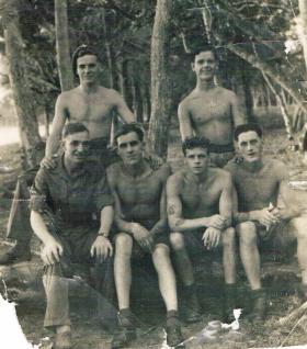 Members of 7th (LI) Parachute Battalion in the Far East c1946