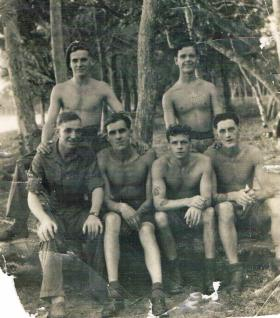 Members of 7th (LI) Parachute Battalion in the Far East c1946