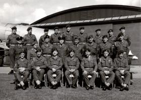 Sgt Malone with friends, date unknown.