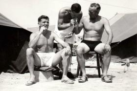 Members of 3 PARA, Bahrain, c1961.