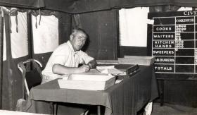 CSM Malone, 3 PARA, Bahrain, c1961.