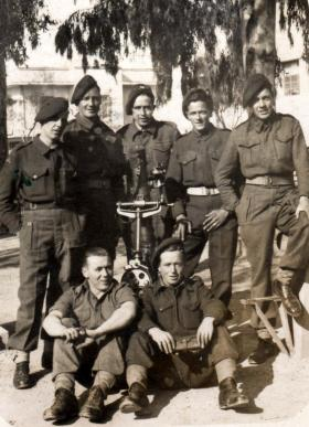 Members of 5th (Scottish) Parachute Battalion, Greece, c1944.