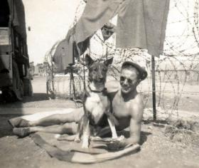 Cpl Malone, 5th (Scottish) Parachute Battalion, Palestine, date unknown.