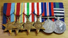Medal Set of Sgt Peter Malone