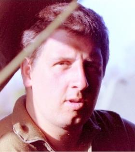 Private Mark Herbert, Kenya, 1987.
