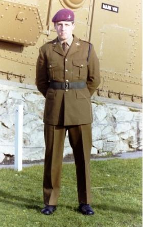 Private Mark Herbert, date unknown.