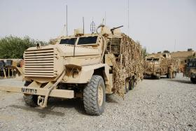 Mastiff in use with B Coy, 3 PARA, Musa Qala, Afghanistan, August 2008.