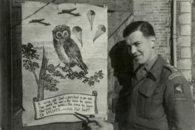 Captain John H Max GSO 3 6th Airborne Division 1944