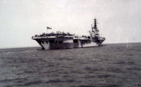 HMS Triumph, c1951