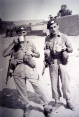 Members of 3 Platoon, A Company, 2 PARA, Ismailia, c1952