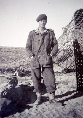 L/Cpl McClusky, 2 PARA HQ Platoon, Operation Rodeo c1952.