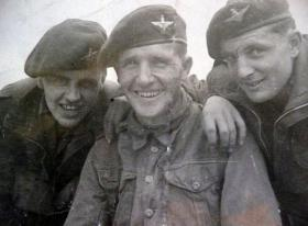 3 members of A Company 1st Para Bn, 1946.