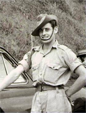 Patrick McNeilly in the Australian Army, undated.