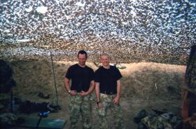 Good morale in the desert