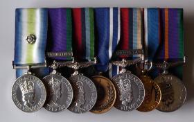 Medal set of Sgt R P Hilton, 2 PARA 1981-2003, 2013.