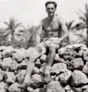 W/Sgt 'Jungle' Medlicott, date unknown.