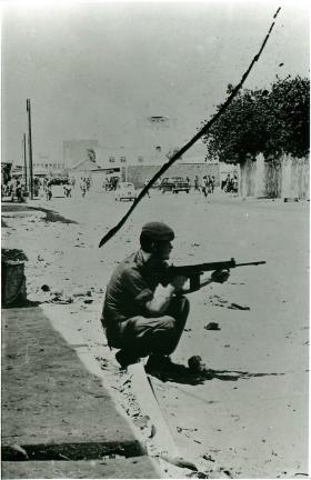 Member of 1 PARA 'D' Company in Sheikh Othman, Aden, 1967