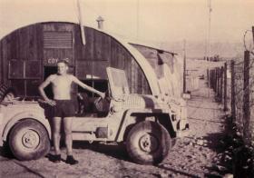 Member of 2 PARA at 'C' Company HQ Aquaba, Jordan 1958