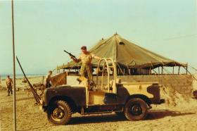 Members of 1 PARA at Beech Road Checkpoint, Aden, 1967