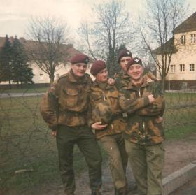 Members of 15 PARA in Germany circa 1971/72