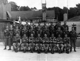 Members of 2 PARA late 1970s