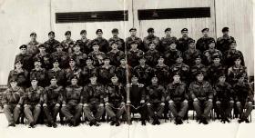 Members of 2 PARA 1960s