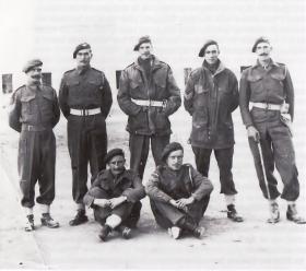Members of 2nd Para Battalion Barletta, 1943.