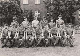 Members of 2 PARA Berlin 1979