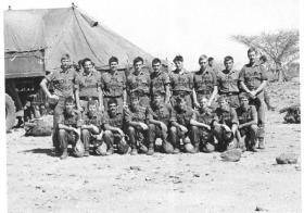 Members of 3 PARA Sudan 1975