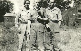 Three members of 4th Para Bn, c1943.