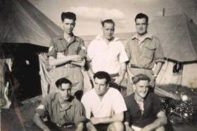 Members of 6th Para Bn, probably Palestine c1946