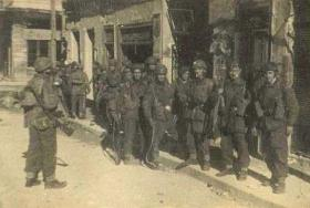 Members of 6th Para Bn Athens 1945
