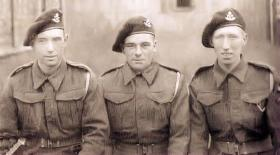 Members of Defence Platoon HQ Company 2nd Bn South Staffs, Bulford 1942