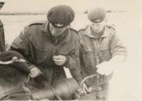 Members of Guards Para Company Anti-Tank Patrol 1963