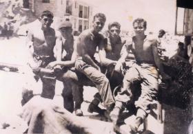 Members of the Anti-Tank Platoon, Support Company, 2 PARA on camp, Jordan, 1958