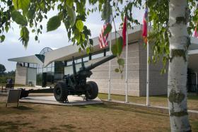 155mm Gun at the Memorial Pegasus Museum