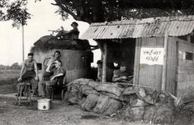 Men of the 13th Para Bn at Halfway House, c1945.