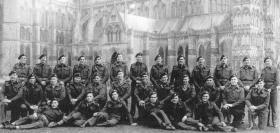 Machine Gun Platoon, HQ Coy, 7th (LI) Para Bn March 1945