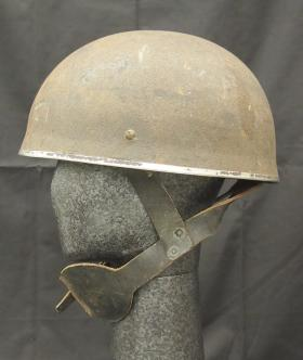 Helmet, Steel, Airborne Troops, Mk I, from the Airborne Assault Museum Collection, Duxford.
