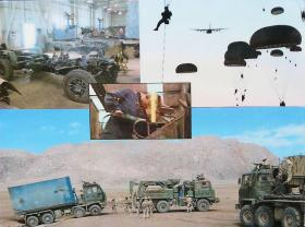 Montage of 8 Field Coy (Para) activities