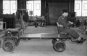 Mobile Platform, taking part in Advanced Technology Development Centre trials, July 1959.