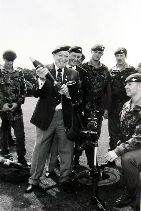 Mortar Platoon display, August 1991.