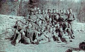 Mortar Platoon, HQ Coy, 7th (LI) Para Bn Hardwick Hall March 1943